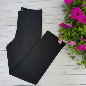 Counterparts Pull On Black Pants Size 10